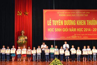 Lễ Tuyên dương học sinh gioi 2014 – 2015